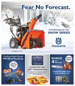 Husqvarna Fall Flyer